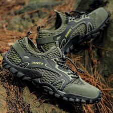 Summer Men Hiking Shoes Mesh Outdoor Sneakers Soft Climbing Boots Trekking Water