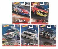 Hot Wheels 2019 Car Culture Door Slammers 1/64 Diecast Cars, Set of 5 FPY86-956N