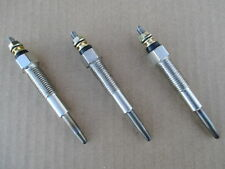 3 Glow Plugs For Ford 1100 1110 1120 1200 1210 1215 1220 1300 1310 1320 1510