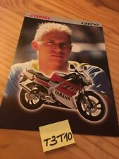 Yamaha TZR50 TZR 50 50TZR prospectus brochure publicité prospekt