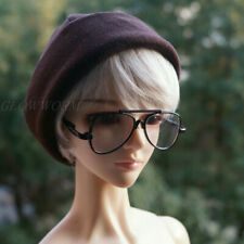 Dollmore 1/3 SD17 Uncle BJD Glasses Eyeglass Black Frame for Ball-jointed Doll