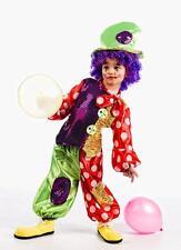 Disfraz payaso botones nño infantil talla 3 años