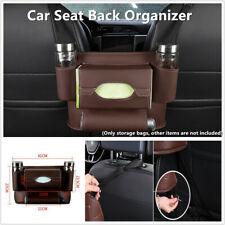 Car Seat Back Organizer w/Multifunction Paper Towel Storage Bag Phone Cup Holder