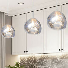 Modern Ceiling Light Home Glass Pendant Light Bar Lamp Kitchen Pendant Lighting
