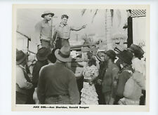 JUKE GIRL Original Movie Still 8x10 Ann Sheridan Ronald Reagan 1942 2004