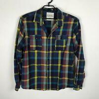 Ezekiel Flannel Shirt Mens Size XXL 2XL Multicolor Plaid Long Sleeve