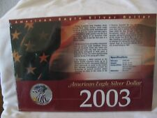 2003 American Eagle Silver Dollar, Silver, Proof Like