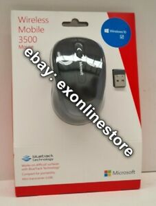 GMF-00104 - Wireless Mobile Mouse 3500 - Black Brand New Retail Package