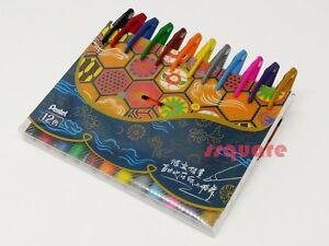 12 Colours set x Pentel SES15C Fude Touch Water-based Brush Tip Sign Pen