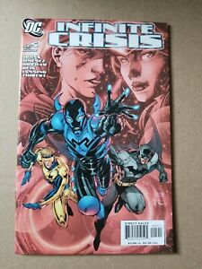 Infinite Crisis #5 NM Cover A 1st Appearance Reyes Blue Beetle DC Jim Lee
