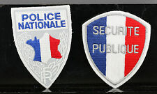 Obsolete French National Police & Securite Publique Police Shoulder Patches