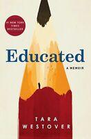 Educated : A Memoir by Tara Westover (2018, Hardcover) - Very Good!