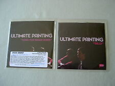 ULTIMATE PAINTING job lot of 2 promo CDs Song For Brian Jones Bills