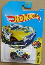 Hot Wheels 2017 38 of 365 Rocket Box Hotwheels HW Art Cars - Long Card