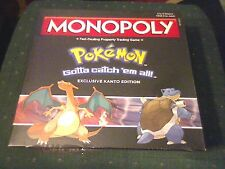POKEMON MONOPOLY GAMESTOP EXCLUSIVE KANTO EDITION BRAND NEW SEALED