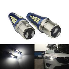 2x 1157 BAY15D P21/ 5W 48 SMD LED Feux de freinage Blanc Stop Ampoules 12-24V