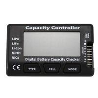 RC CellMeter 7 Digitale Batterie Kapazitaet Checker LiPo LiFe Li-Ion NiMH N F4B5