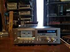 Serviced Pioneer CT-F750 Auto Reverse Cassette Deck with a small issue **DEMO**