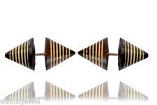 Multi Fake Guage Wooden Earring Wer331 Ethnic Tribal Organic Wood Craft Handmade