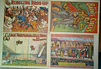 Vintage 1960 Circus World Museum Poster Set of 4 Posters New Old Stock