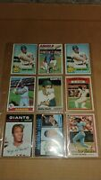 Bobby Bonds  Baseball Card Mixed Lot approx 9 cards