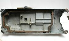 Oil Pan with Knee Lifter Assembly for Singer 281 Industrial Sewing Machine, used