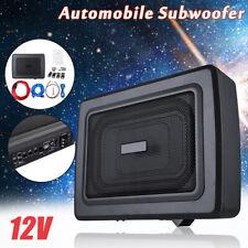 "9"" 600W Under Seat Car Subwoofer Power Amplifier Bass HiFi Audio Speaker"