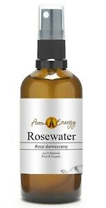ROSE WATER Rosewater SPRAY - Organic - 100% Pure & Natural High Quality - 100ml