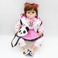 "20"" Reborn Dolls Newborn Baby Girl Toddler Cute Silicone Vinyl Doll Gift Toys"