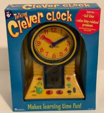 TALKING CLEVER CLOCK TOY
