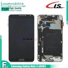 Per Samsung Galaxy Note 3 N9005 Schermo LCD Display Touch Screen con Telaio Nero