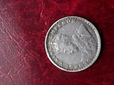 India British 1915 2 annas silver coin,VF