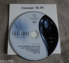 NEW Farscape Season 2 Disc 4 Replacement DVD, 15th Anniversary Edition free ship