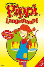4 DVDs * PIPPI LANGSTRUMPF - ZEICHENTRICKSERIE - Gelbes Cover # NEU OVP !