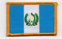 GUATEMALA GUATEMALAN FLAG PATCHES backpack  PATCH BADGE IRON ON NEW EMBROIDERED