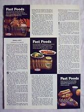 1978 Magazine Advertisement Ad Page For Kraft Cheez Whiz Squeez A Snak Cheese