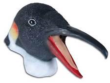 Penguin Mask Madagascar Bird Animal Zoo Full Adult Overhead Latex Rubber New