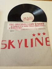 "THE ORGINAL - I Luv U baby - 2002 UK 12"" Vinyl Single (Part 1)"