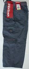 NEW Boys Union bay Unionbay  Cargo Pants NEW 100% Cotton gray sz  4
