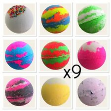 BULK BUY 9X BEST SELLING Bubble Bath Bombs BUY MORE SAVE MORE!!  Bath Treat 160g