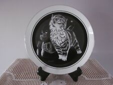 'Purr-Fect Pleasure' Kitten's World Collector Plate By Droguett  - #5 1979
