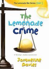 The Lemonade War Lemonade Crime 2 by Jacqueline Davies Paperback FREE USA SHIP