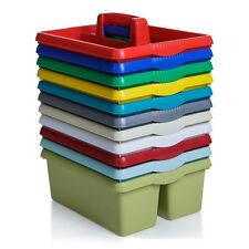 wham colourful plastic caddy organiser cleaning car wash stationery kitchen tidy