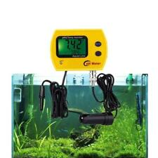 Digital Online pH Meter Aquarium Water Quality Monitor with Temperature Display
