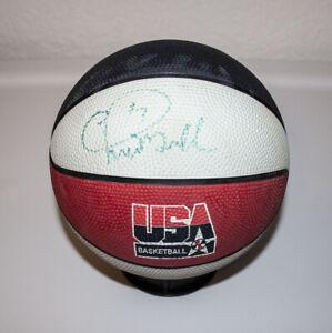Chris Mullen USA Mini Basketball Autograph Spalding Golden State Warriors