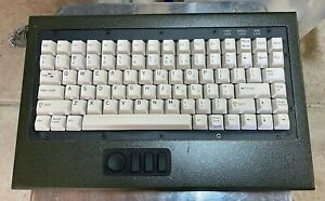 General Dynamics PC type keyboard ruggedized tactical system