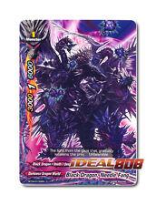 Buddyfight x 4 Black Dragon, Needle Fang - BT04/0100EN (C) Common Mint Future Ca