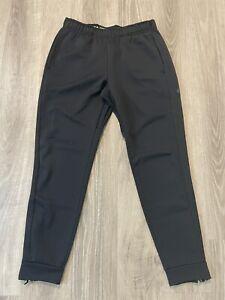Men's Nike Therma Sphere Training Pants Joggers Black Size Medium *No Drawstring