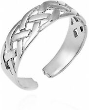Ring Or Pinky Ring for Women Interwoven Celtic Knot 925 Sterling Silver Toe