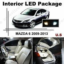 White LED Lights Interior Package Kit for Mazda 6 2009-2013 ( 7 Pcs )